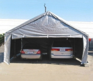 carport tent grey 20u0027 x 20u0027 heavy duty