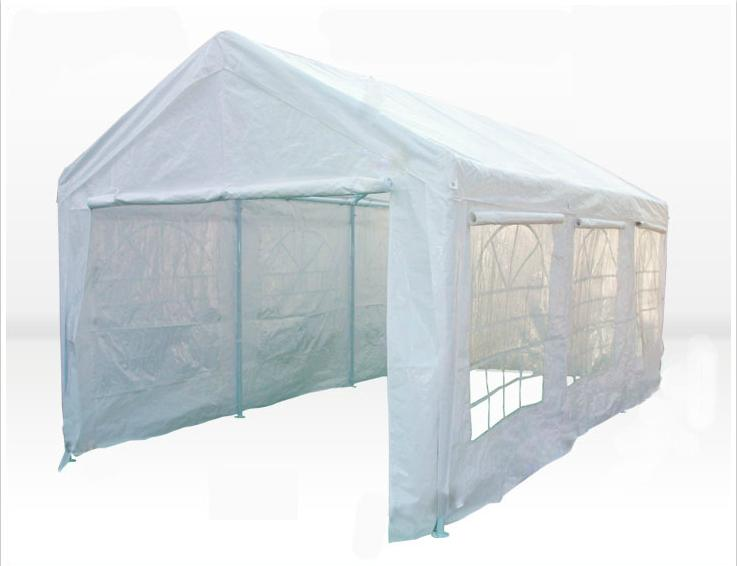 carport tent mcombo white 20x26u0027 heavy duty carport