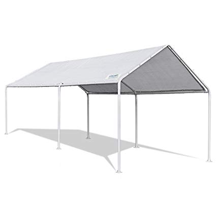 carport tent quictent 20u0027x10u0027 upgraded heavy duty carport
