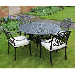 cast aluminium garden furniture UYJLVXE