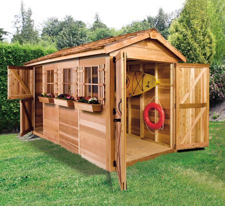 cedar sheds canoe u0026 kayak storage shed kits for sale SDDPWUT