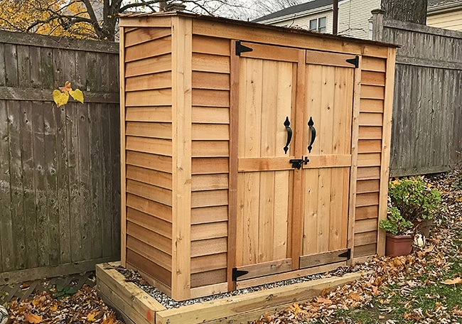 cedar sheds cedar shed kits - outdoor living today FSWZPXS