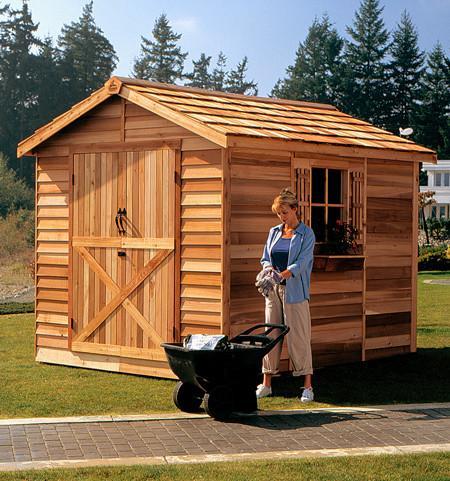 cedar sheds cedarshed rancher shed kit ... ZIWPAYV