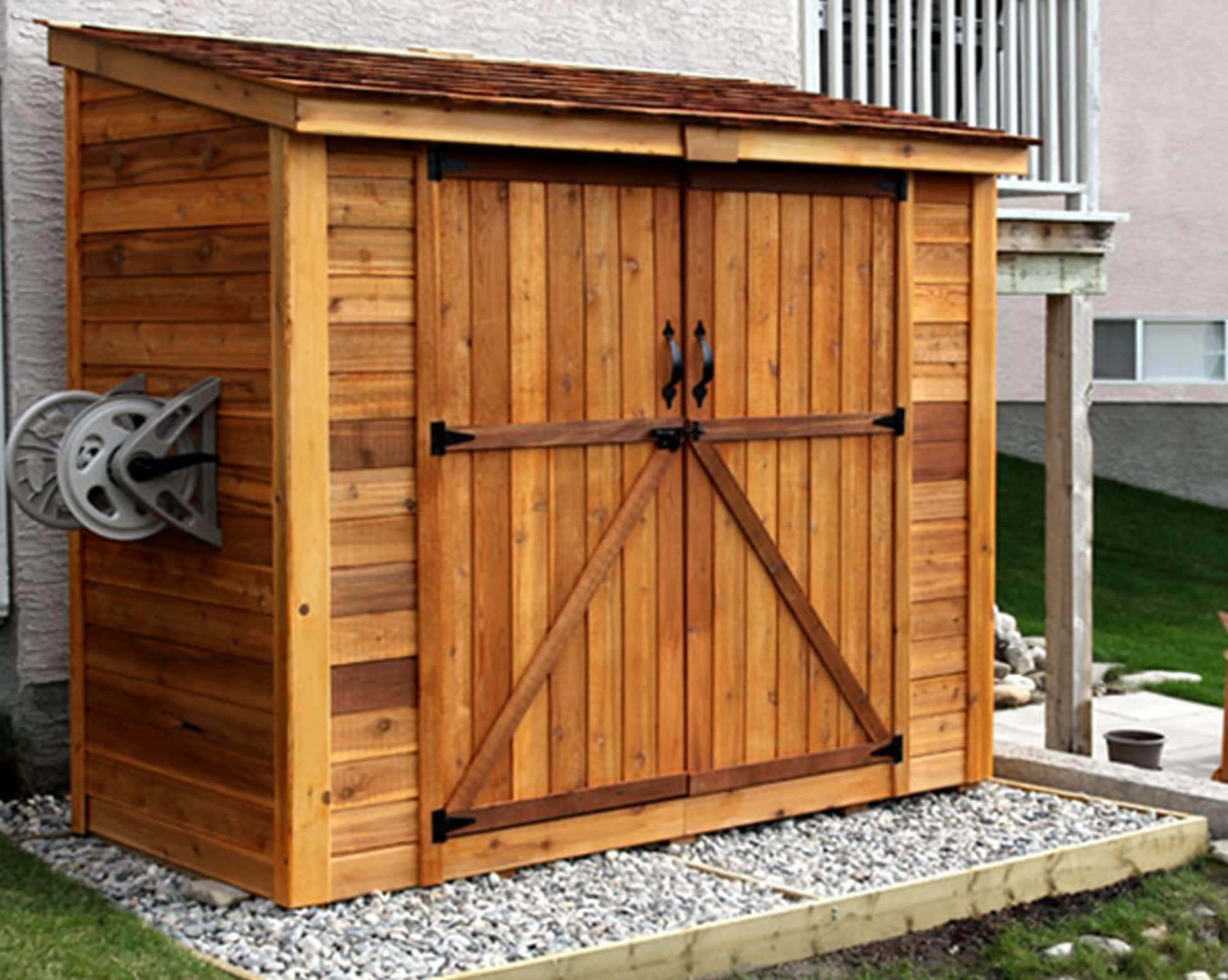 cedar sheds lean to shed · cedar shed kits IEVIOYA