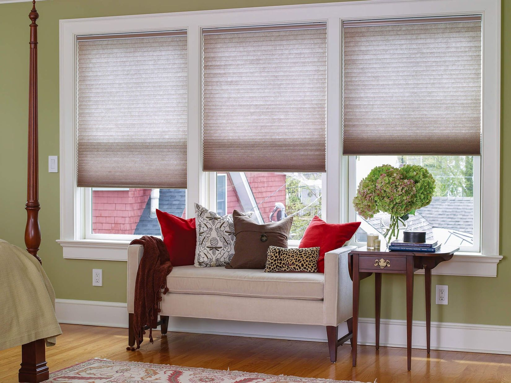 cellular shades has become a popular window treatment option for bedrooms PURFXAZ