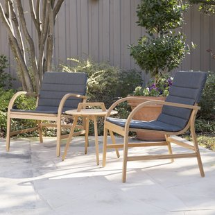 chenier 3 piece outdoor seating group with removable