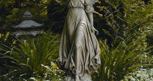 classic angel garden statue WJRHOUF