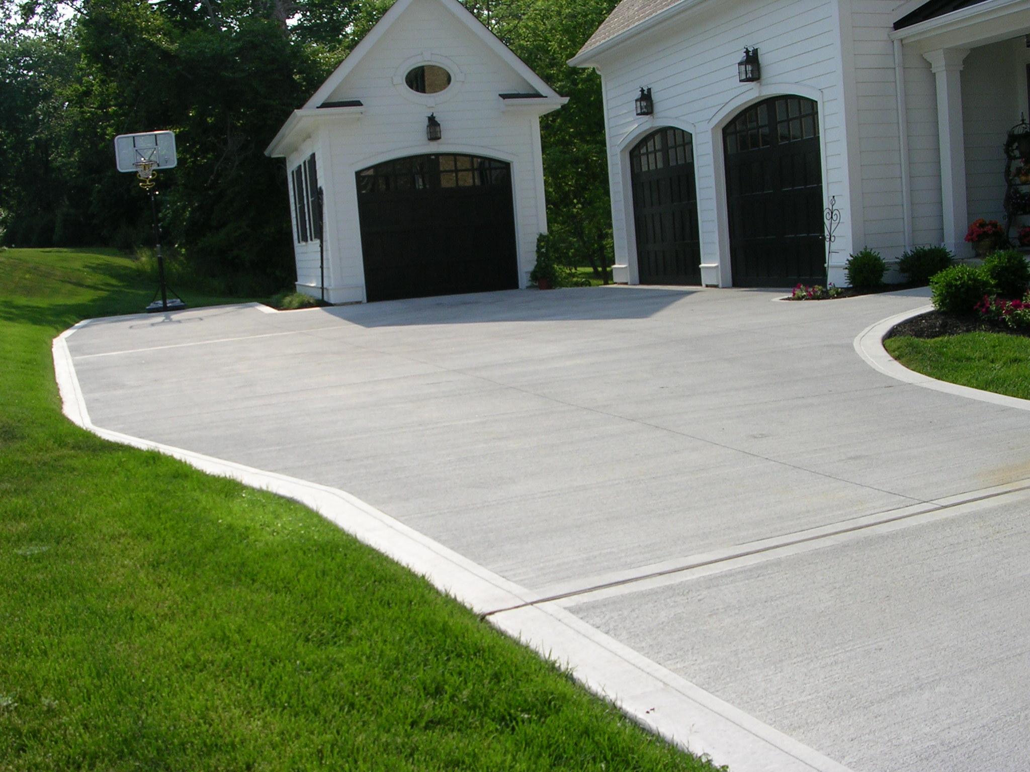 concrete driveways concrete driveway chagrin falls, ohio. KBGHGLB