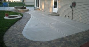concrete patio designs | concrete patio ideas and pictures is a part QERMNHE