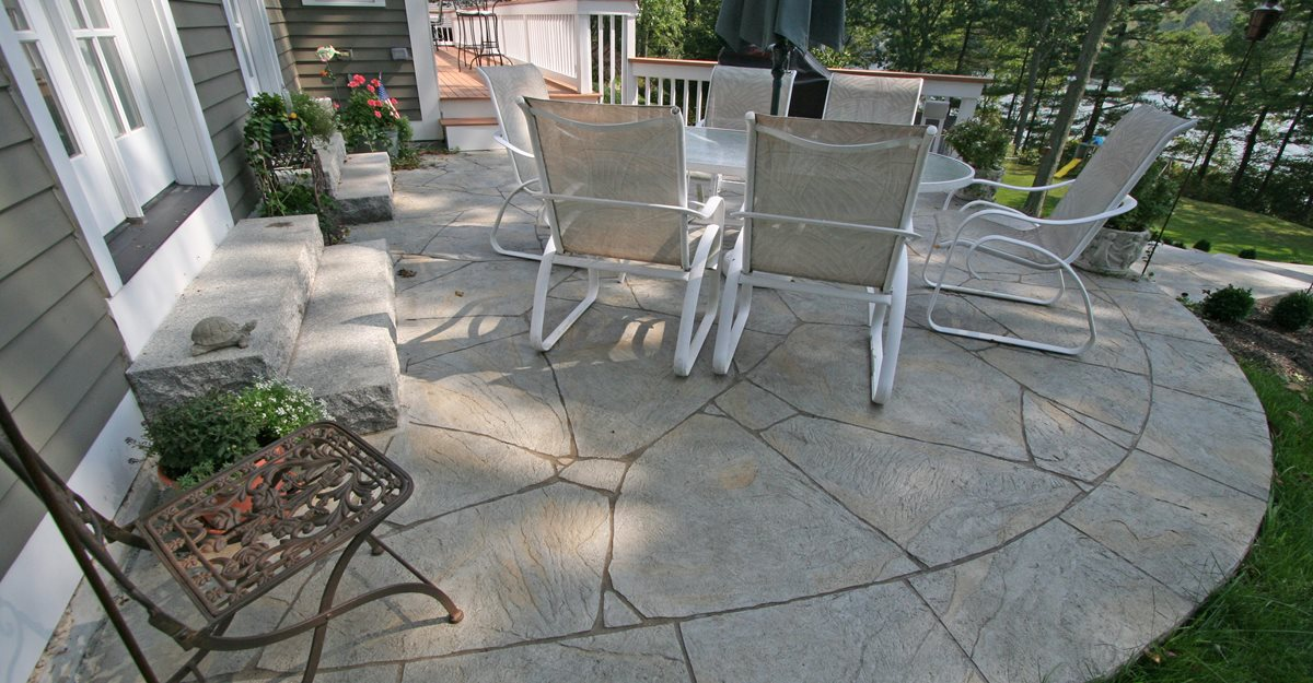 concrete patio ideas concrete patio decorative JELEFPP