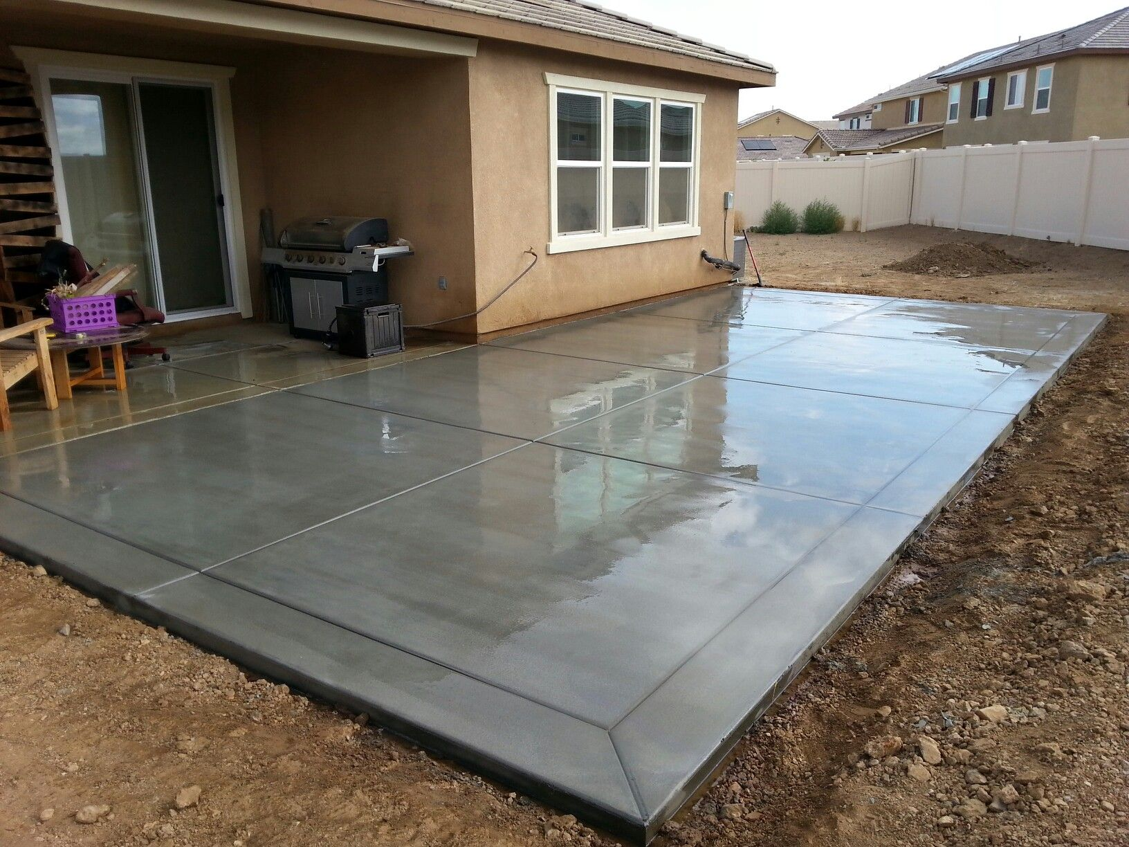 concrete patio ideas if you enjoyed this article on building a concrete patio how much TMHATRP