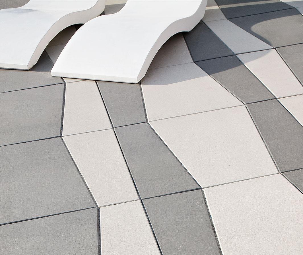 concrete paving slab / pedestrian / frost-resistant / drive-over - multi NUFRGPU