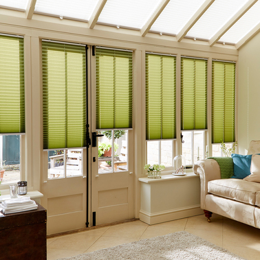 conservatory blinds conservatory pleated blinds zghakzk FAVXOUA