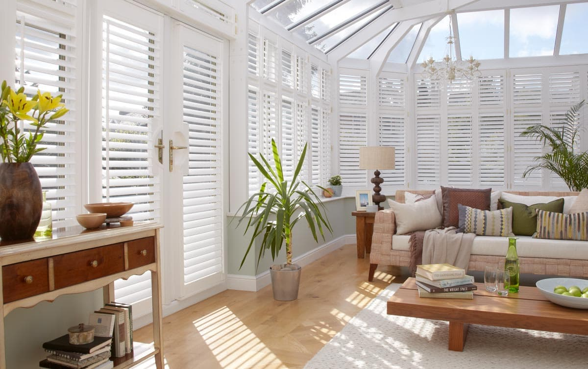 conservatory blinds   made to measure with thomas sanderson TAMUAQS