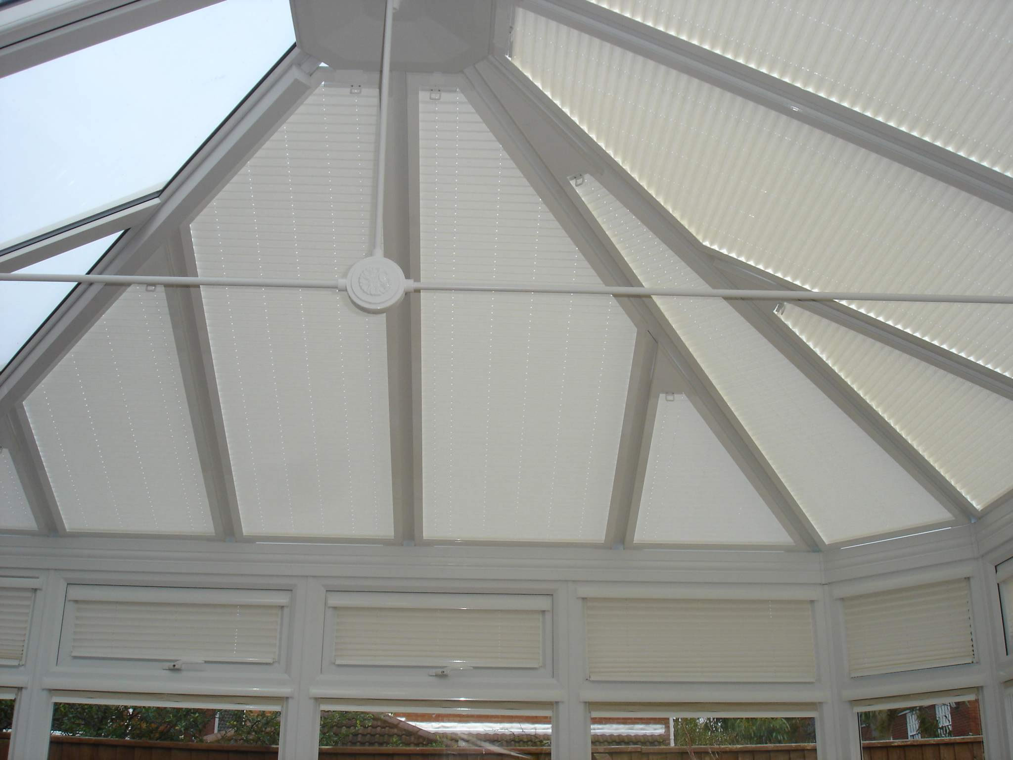 conservatory roof blinds conservatory blinds by radiant art