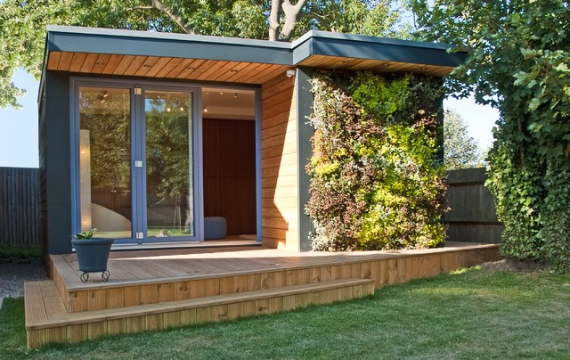 contemporary garden rooms garden room in kent modern-shed MJIOOKE