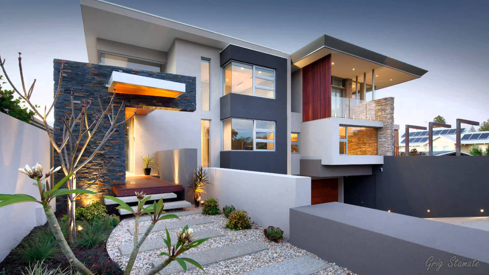 contemporary house designs stunning ultra modern house designs - youtube UHJURZJ