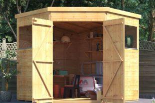 corner sheds billyoh expert tongue and groove corner workshop shed - garden sheds - MSRUOEP