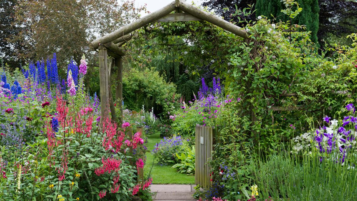 cottage garden idea garden JFCMAJS