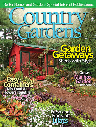 How Country Life Influence Country Gardens