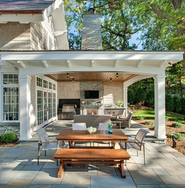 covered patio carman bay cottage (lake minnetonka) traditional-patio XKKXYZF