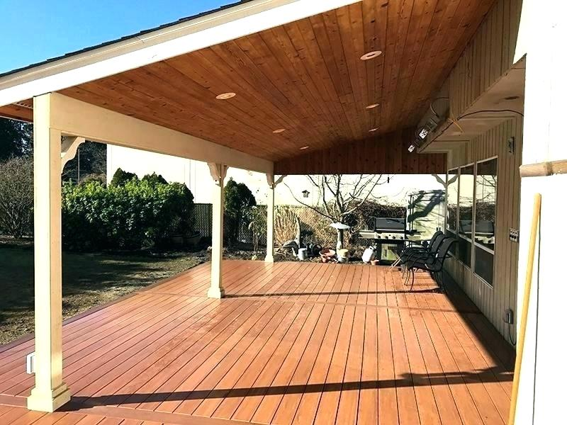 Different Types of a Beautiful Covered Patio Design ... on Backyard Patio Cover  id=49321
