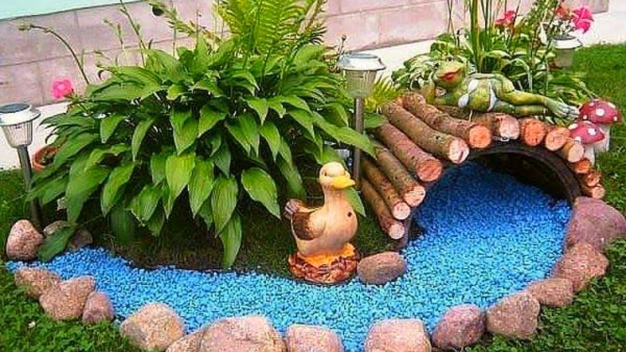 creative garden ideas 50 creative ideas for garden decoration 2016 - amazing garden ideas part.1 RNKZZGI