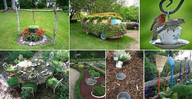 Be Inventive: Go creative with creative garden ideas