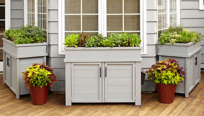 deck and patio storage planter NCLXJIR