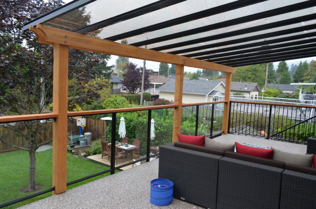 deck awnings glass FCZUBIV