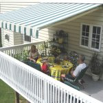 deck awnings sunair awning extended image QPIEYVC