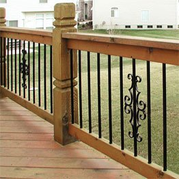 deck balusters baluster accessories FGXNCGM