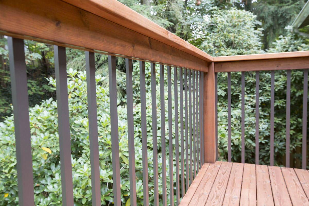 deck balusters installing deck railing | aluminum balusters for deck | dunn lumber GRVCHBX