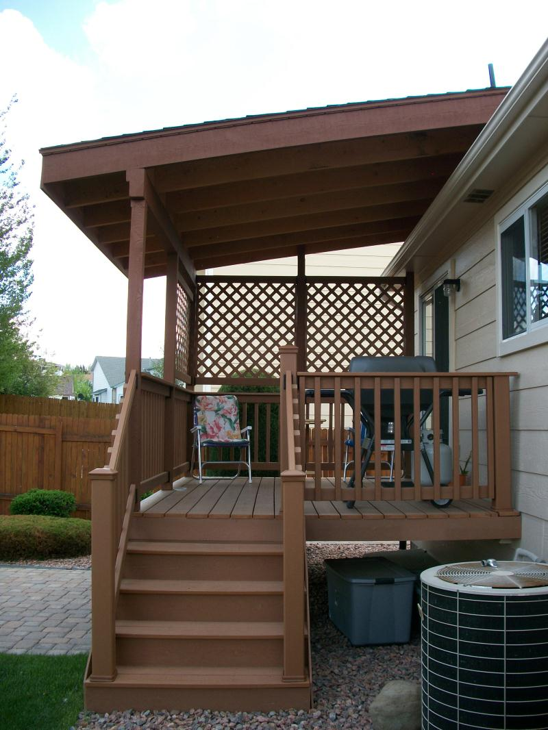 deck covering deck cover to your dream home - carehomedecor TJQWPRP