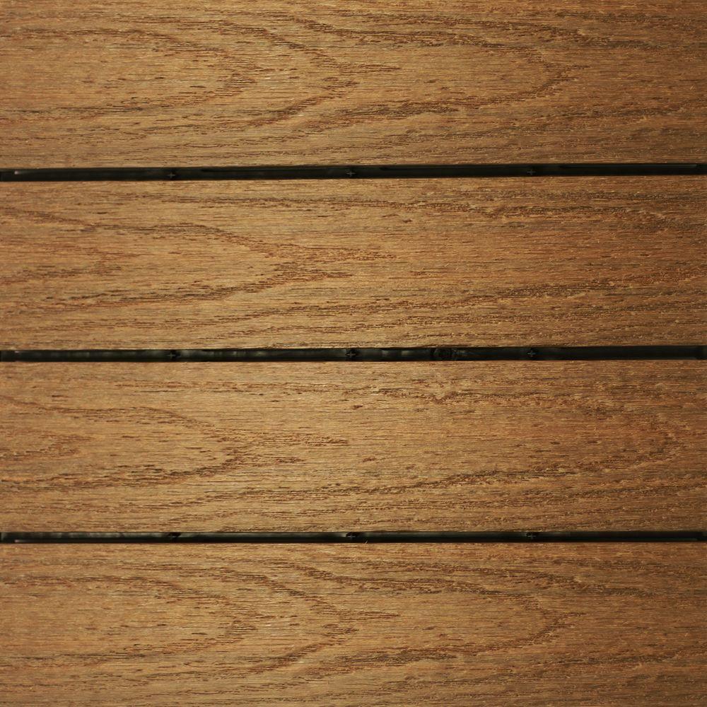 deck flooring newtechwood ultrashield naturale 1 ft. x 1 ft. quick deck outdoor composite BZKBZFT