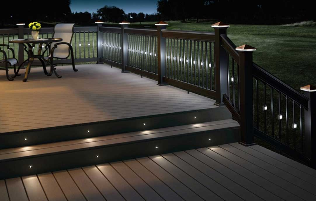 deck lights amazing deck lighting ideas FFHJOPF