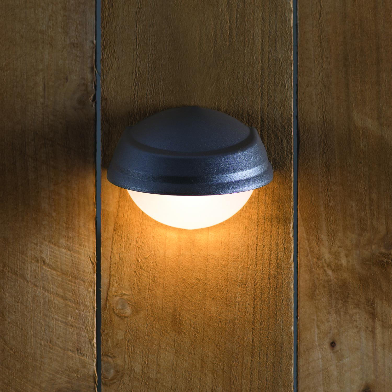 deck lights better homes and gardens 1 piece quickfit led deck light RYIKYEM
