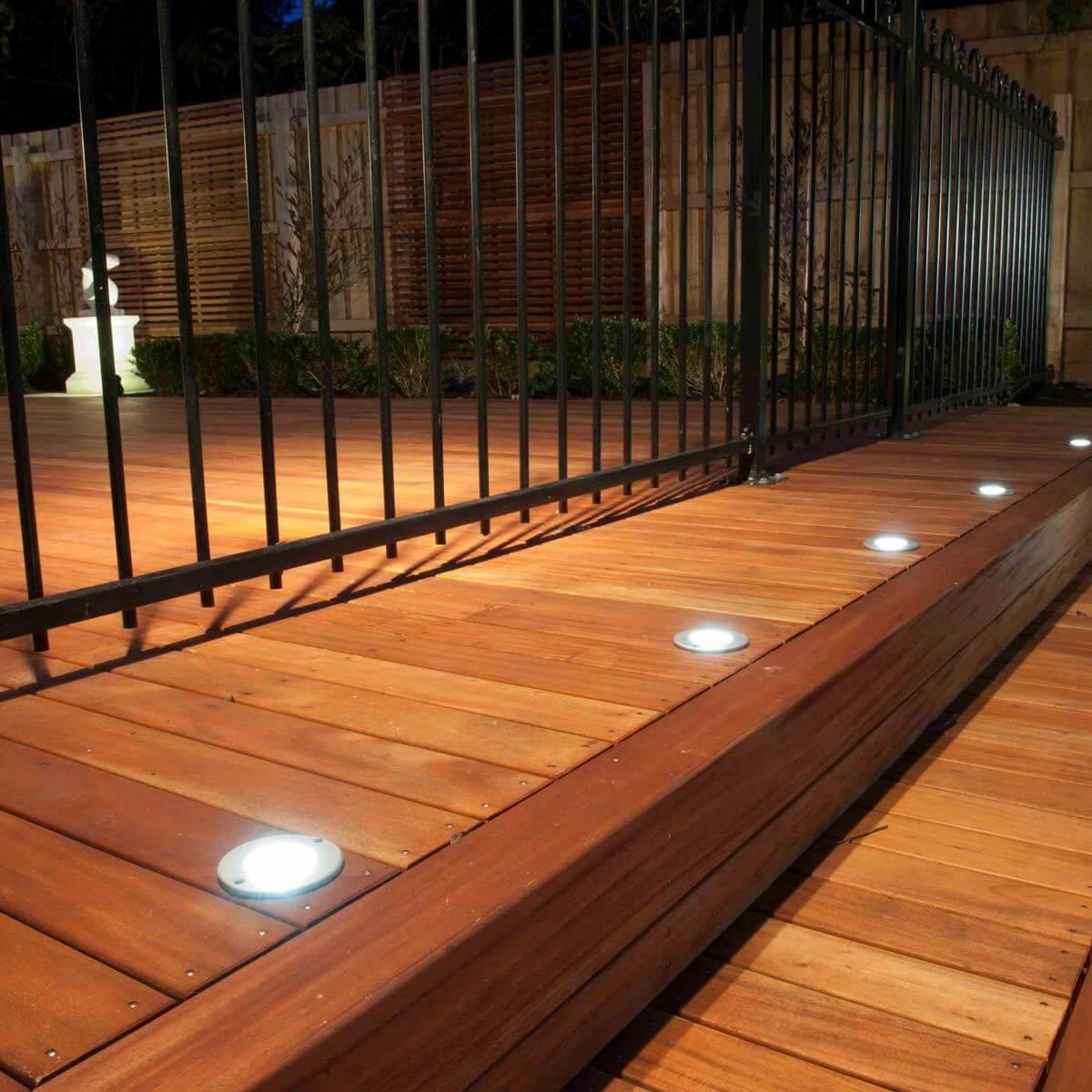 deck lights deck in floor lighting EOXBBYH