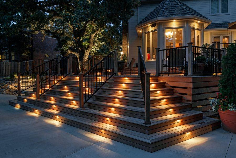 deck lights deck lighting, step lights mckay landscape lighting omaha, ne MVZAFND