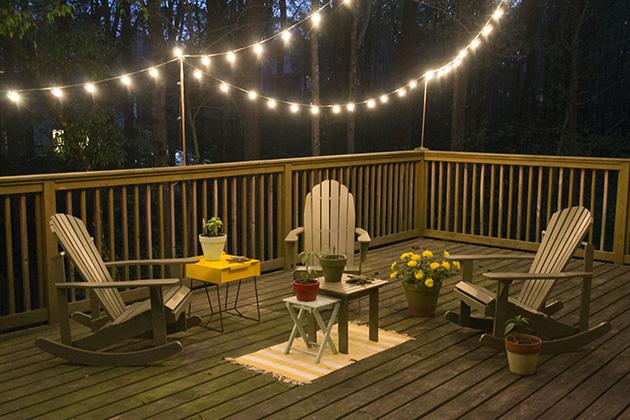 deck lights diy deck lighting || hearts u0026 sharts QUDEVUR