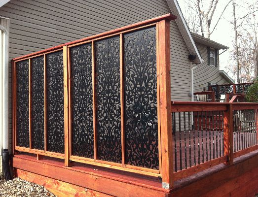 deck privacy screen acuriolattice.com ~ amazing source for custom and affordable lattice panels SYLQZON