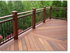 deck railing designs elegant collection free 40 deck railing ideas love this ipe wood deck, RNQUSEX