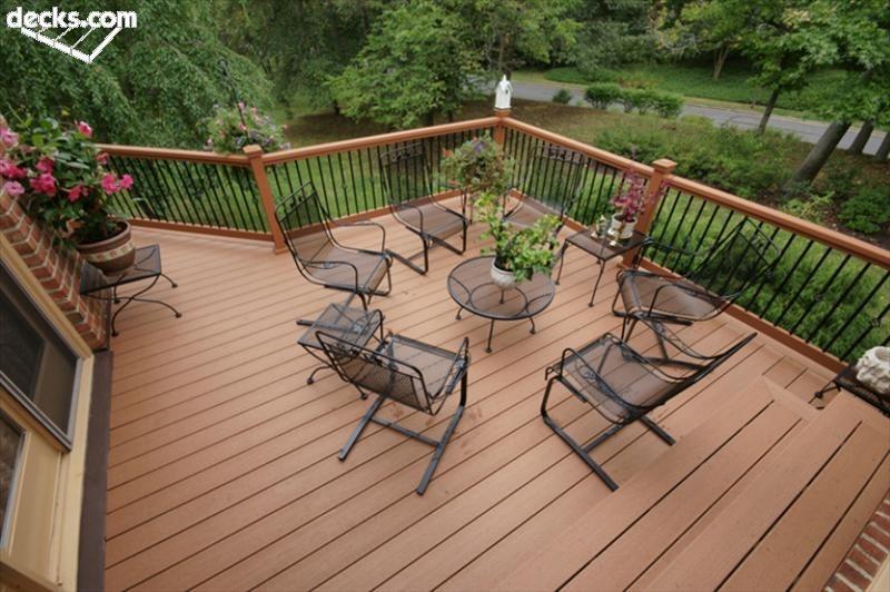 deck railing designs fortress railing balusters FLGISJU
