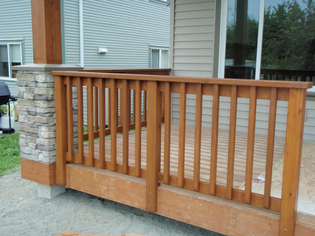 deck spindles image of: how-to-stain-a-deck-spindles IMYGODV