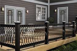 deck spindles surface mount balusters BBCPEGY