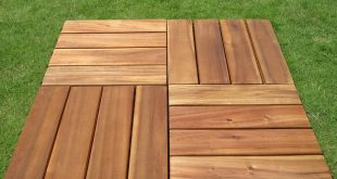 deck tile wood outdoor balcony deck IFVXXIU
