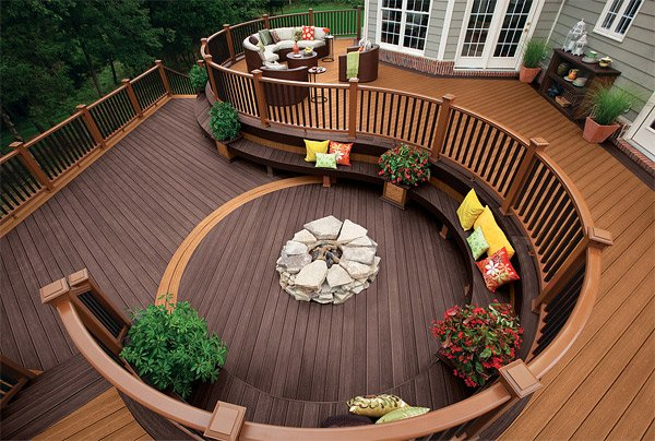 decking designs earthy brown tone RWTYQGC
