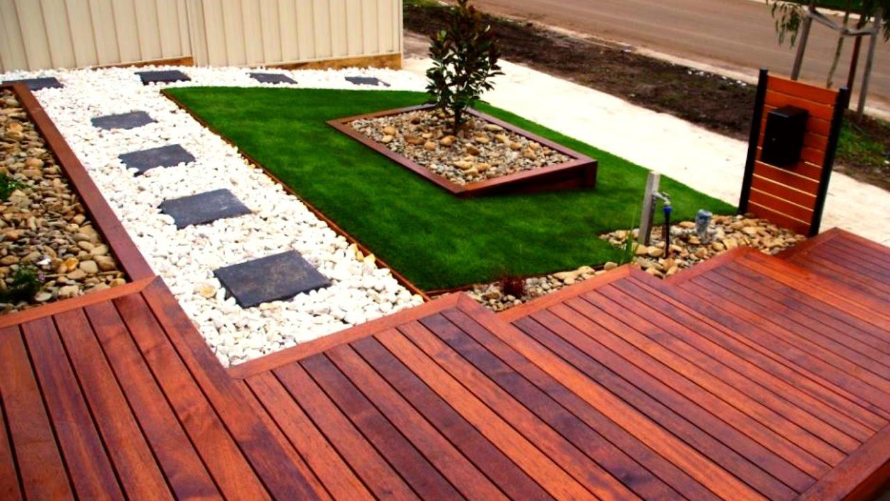 decking ideas 40 wood decking outdoor design ideas 2017 - creative deck house ideas ZRJCAZV