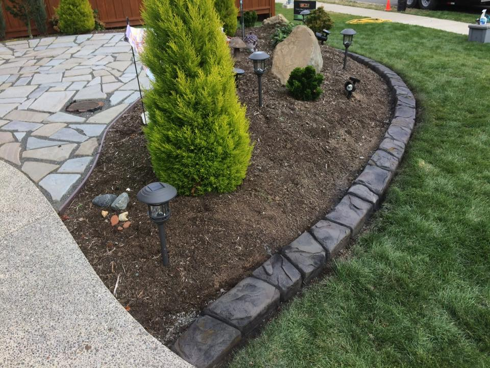 decorative concrete lawn edging QHCAZAG
