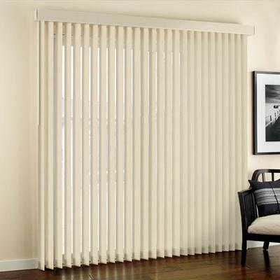 designer fabric vertical blinds. balsamo ivory 2716 YQIMWMW
